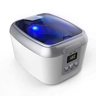Famili Ultrasonic Polishing Jewelry Cleaner with Digital Timer