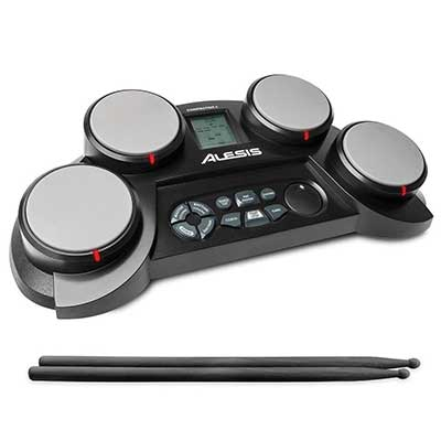 Alesis CompactKit 4 Portble 4-Pad Tabletop Electronic Drum Kit
