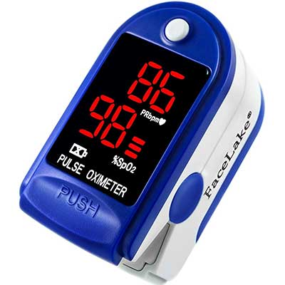 FaceLake Blue Pulse Oximeter