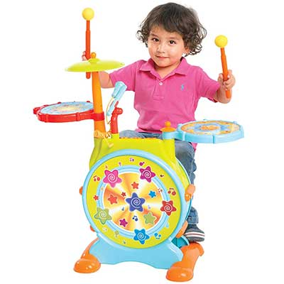 Best Choice Products Kids Electronic Drum Set