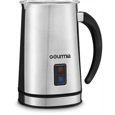 Gourmia GMF225 Cordless Electric Milk Frother and Heater