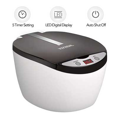VIVREAL Professional Ultrasonic Jewelry Cleaner