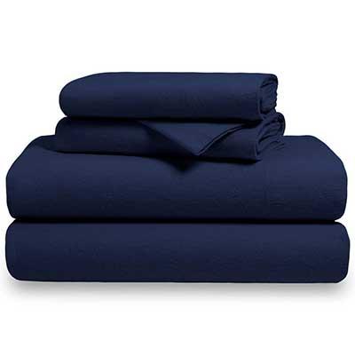 Bare Home Flannel Sheet Set 100 Percent Cotton