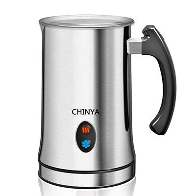 Milk Frother, Automatic Milk Steamer by Chinya