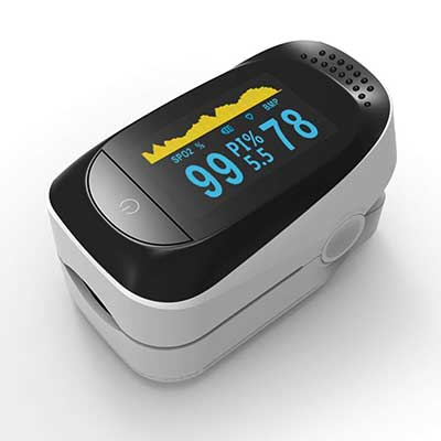 Winfi Pulse Oximeter, Upgrade Fingertip Pulse Oximeter