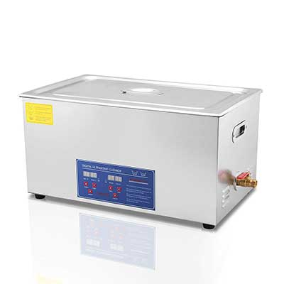 Mophorn Ultrasonic Cleaner 1.3L/2L/3L/6L/10L/22L/30L Heater Timer Commercial Ultrasonic Cleaner