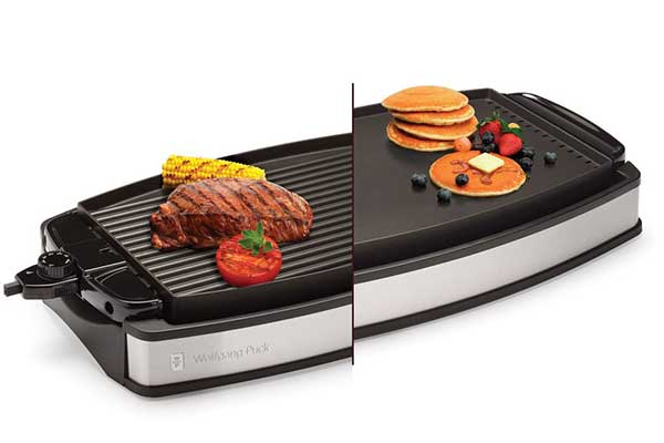 Wolfgang Puck Electric Reversible Grill and Griddle