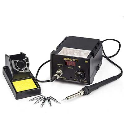 Soldering Iron Station with Extra Heating Element
