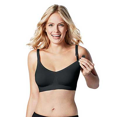 BRAVADO DESIGNS Women's Body Silk Seamless Nursing Bra