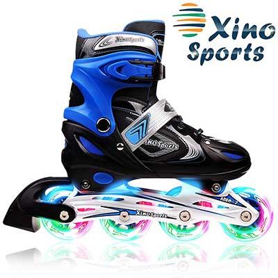 XinoSports Adjustable Inline Skates for Kids