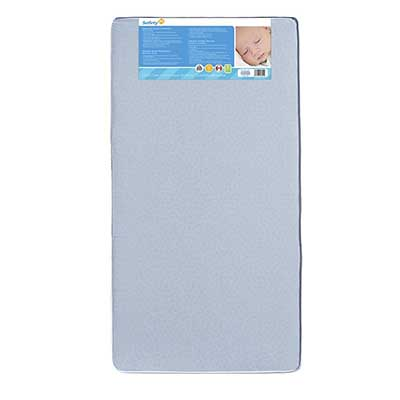 Safety 1st Heavenly Dreams Blue Crib and Toddler Bed Mattress