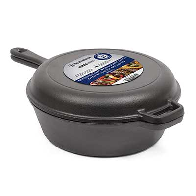 Westinghouse WFL3CC Select Series Seasoned Cast Iron Dutch Oven