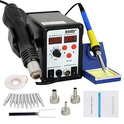 Smartxchoices 898D+ Digital Soldering Station