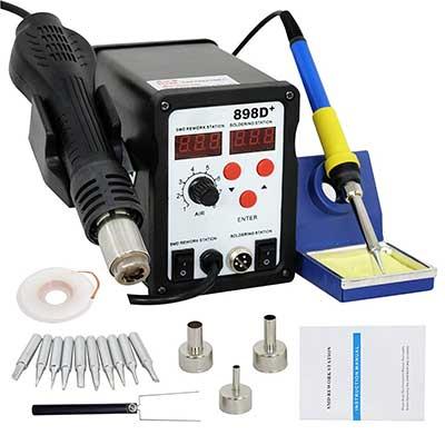 Smartxchoices 898D+ Digital Soldering Station