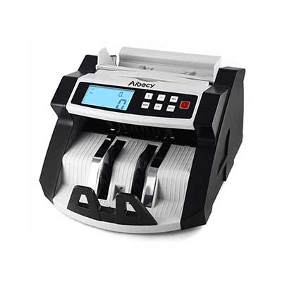 KKmoon Automatic Multi-Currency Cash Banknote Money Bill Counter