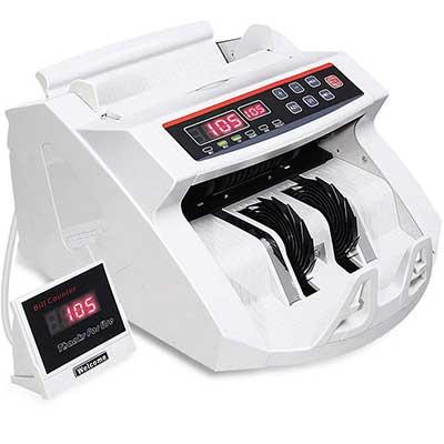 Goplus Money Counter Worldwide Bill Counting Machine Detector