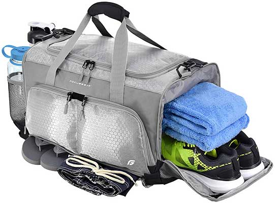 Ultimate Gym Bag: The Crowdsource Designed 20-Inch Duffel