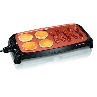 Hamilton Beach Durathon Ceramic Griddle Electric