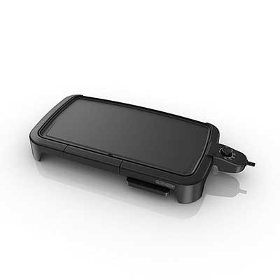 BLACK + DECKER Family-Sized Electric Griddle