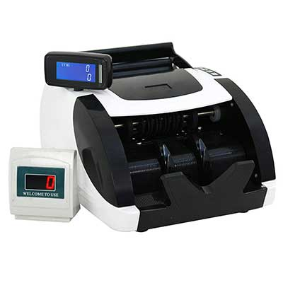 ZENY Currency Cash Bill Counter Automatic Money Counting Machine