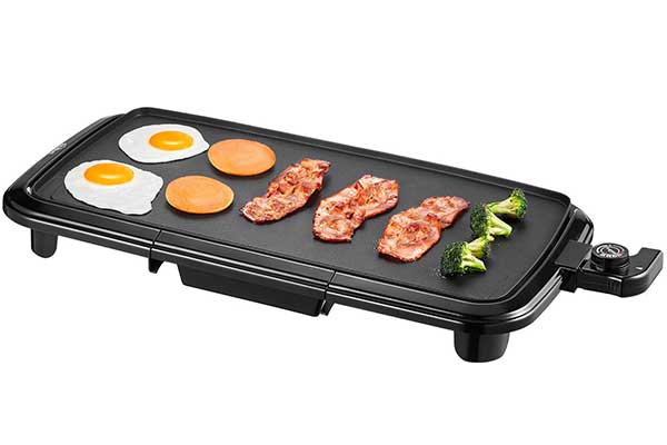 Kealive Griddle, Electric Grill Griddle 1500W