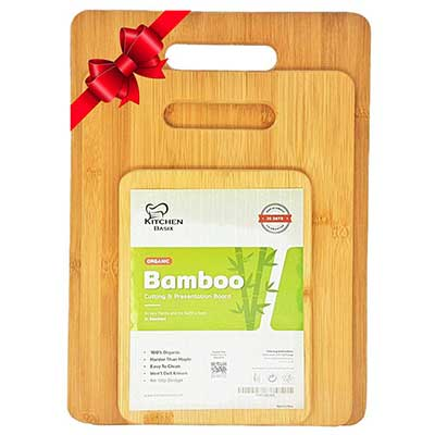Bamboo Cutting Board 3 Piece Set