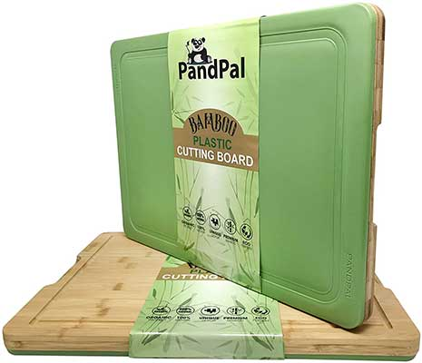 Bamboo Polypropylene Hybrid Cutting Boards for Kitchen