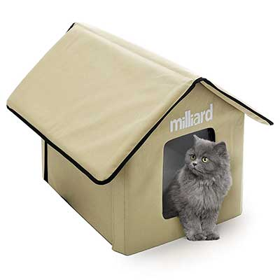 Milliard Portable Outdoor Pet House for Cat, Kitty