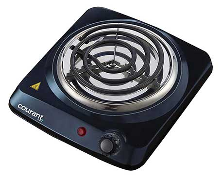 Courant Electric Burner, Single Buffet Countertop Hotplate
