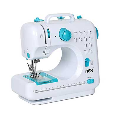 Sewing Machine Portable Crafting Mending Machine