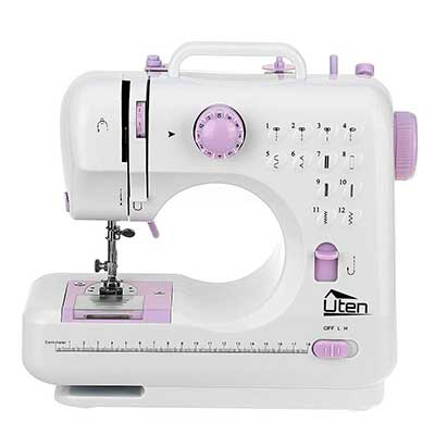 Portable Sewing Machine 2 Speed 12 Stitches