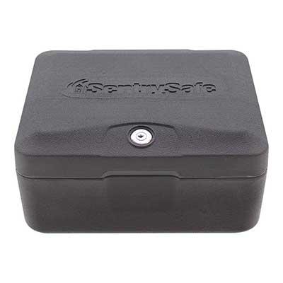 SentrySafe 0500 Fireproof Box with Key Lock