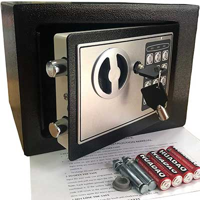 Yuanshikj Electronic Deluxe Digital Security Safe Box