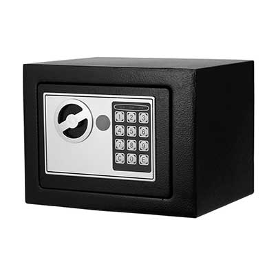 Digital Electronic Safe Security Box Fireproof Wall