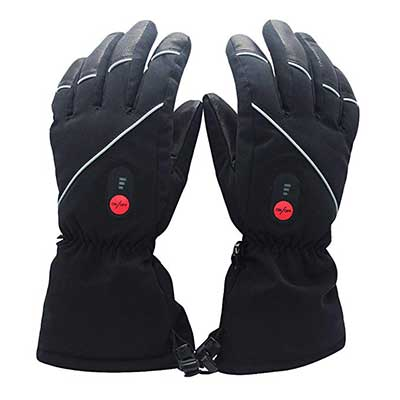 Savior Heated Gloves with Rechargeable Li-ion Battery