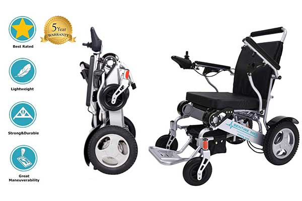 Sentire Med Forza D09 Deluxe Foldable Power Wheelchair