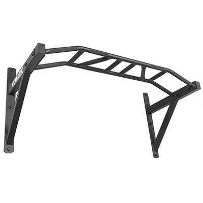 XMark Commercial Multi-Grip Wall Mounted Pull Up Bar