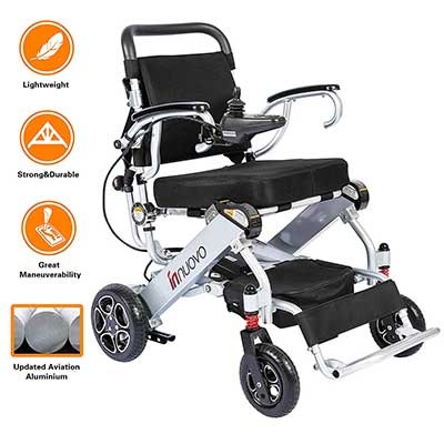 Innuovo N5513A Lightweight Foldable Power Compact Wheelchair
