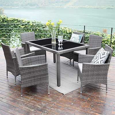 Wisteria Lane Outdoor Patio Dining Set