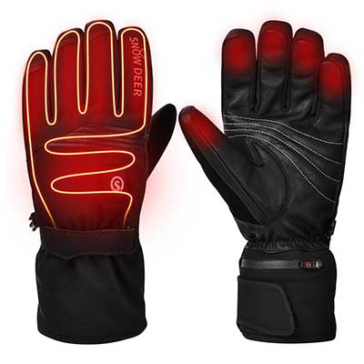 Upgraded Heated Gloves, Motorcycle Gloves