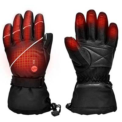 Upgraded Heated Gloves for Men and Women
