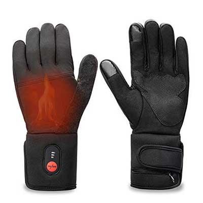 Sun Will Rechargeable Electric Battery Heated Gloves