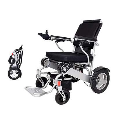 2019 Folding Electric Powered Wheelchair Lightweight