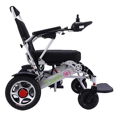 ComfyGO Best Rated Exclusive Deluxe Electric Wheelchair