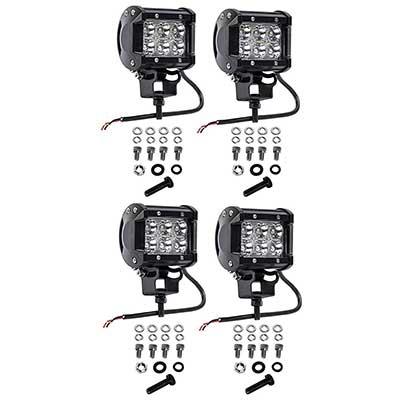 Cutequeen 4 X 18w 1800 lumens Cree LED Spot Light