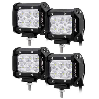 "Auxbeam 4Pcs 4"" LED Light Bar"