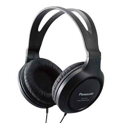 Panasonic Headphones RP-HT161-K Full-Sized Over-Ear Headphones
