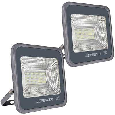 LEPOWER 2 Pack 100W LED Flood Light