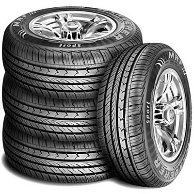 Set of 4 MRF Wanderer Sports Performance All-season Radial Tires