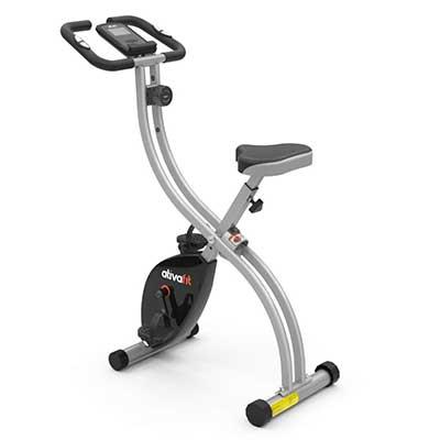 ATIVAFIT Indoor Cycling Bike Folding Magnetic Recumbent Bike
